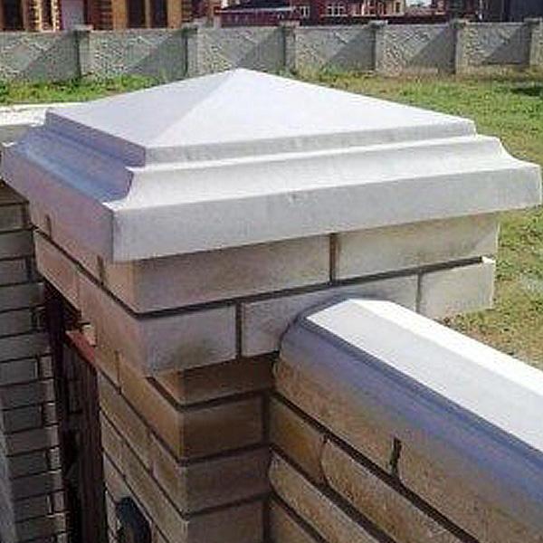 Парапеты из бетона в москве облицованные бетоном